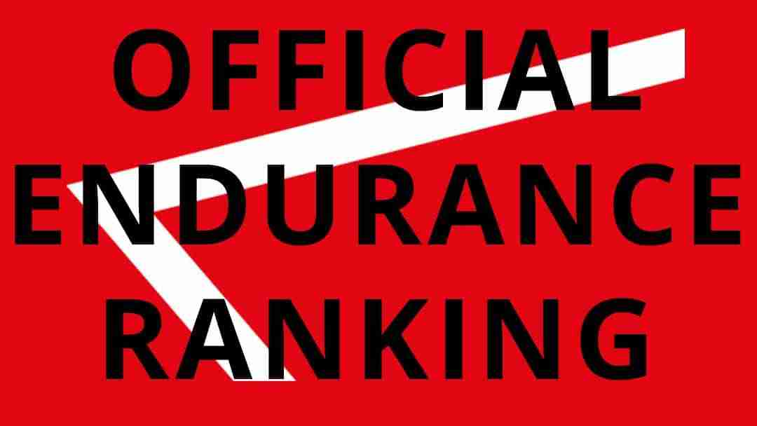 CALISTHENICS OFFICIAL ENDURANCE RANKING