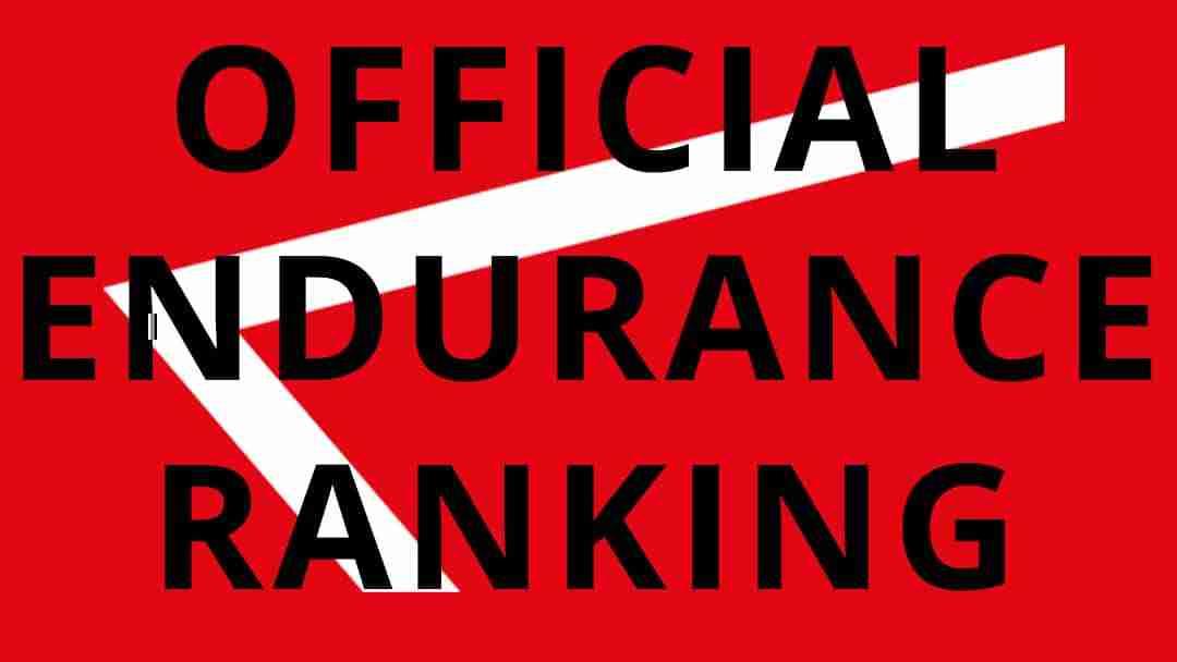offcial calisthenics endurance ranking