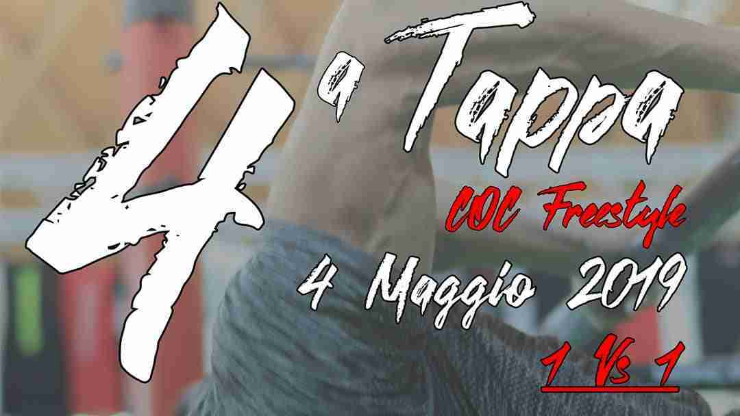 QUARTA TAPPA C.O.C. FREESTYLE