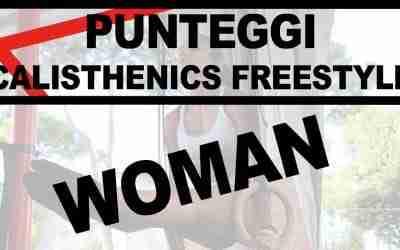 PUNTEGGI CALISTHENICS FREESTYLE WOMAN