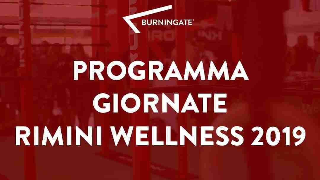 PROGRAMMA GIORNATE CALISTHENICS RIMINI WELLNESS 2019