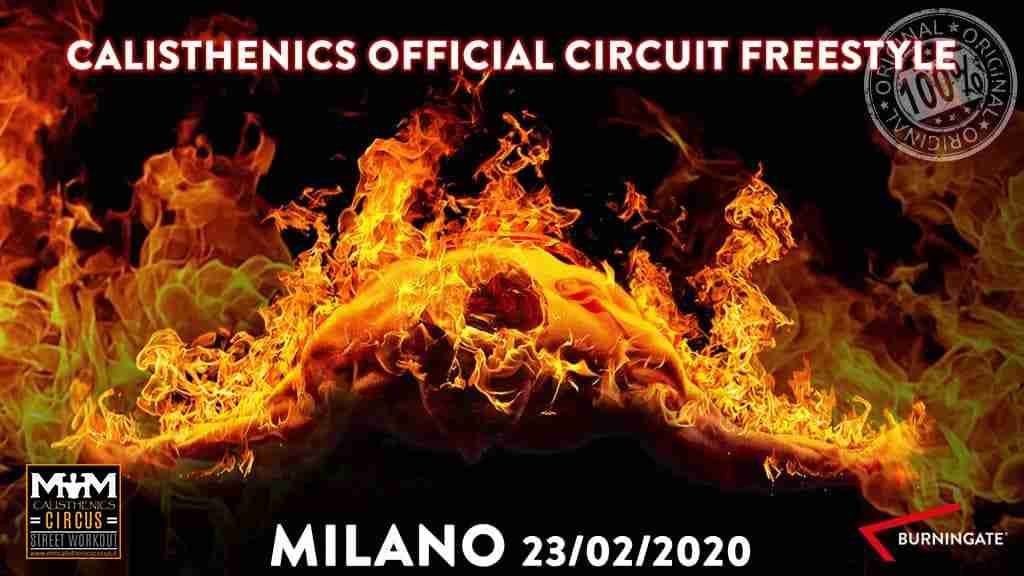 CALISTHENICS OFFICIAL CIRCUIT FREESTYLE 3°TAPPA MILANO 23/02/20120