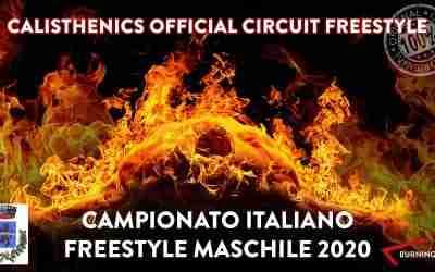 FINALE CAMPIONATO ITALIANO CALISTHENICS FREESTYLE MASCHILE 2020