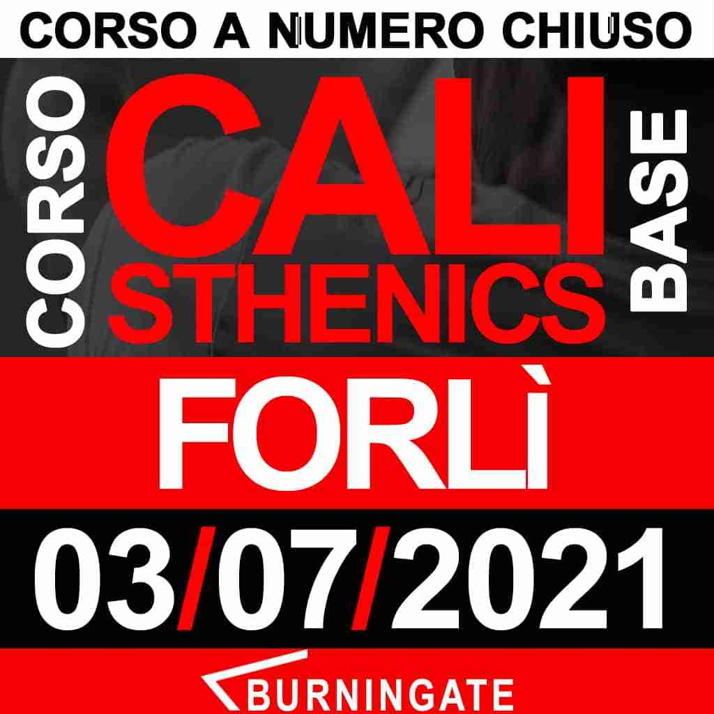 CORSO CALISTHENICS FORLì 17-OTTOBRE-2020