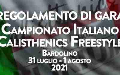 Regolamento Tecnico Gare Freestyle 2021